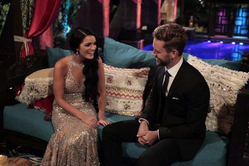 raven gates and nick viall bachelor time