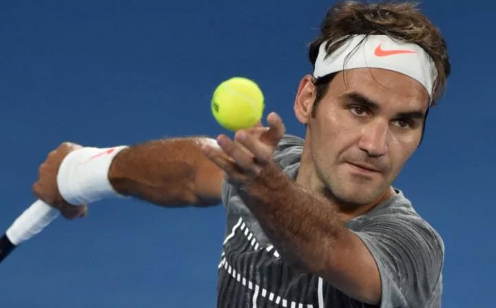 Roger Federer, Andy Murray play in Rod Laver Arena on Monday 2017 images