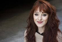 ruth connell talks supernatural rowena and 'coming' with misha collins 2017 images