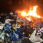 san diego chargers fans light up farewell