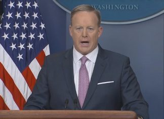 sean spicer gets calmer for monday press conference full transcript 2017 images