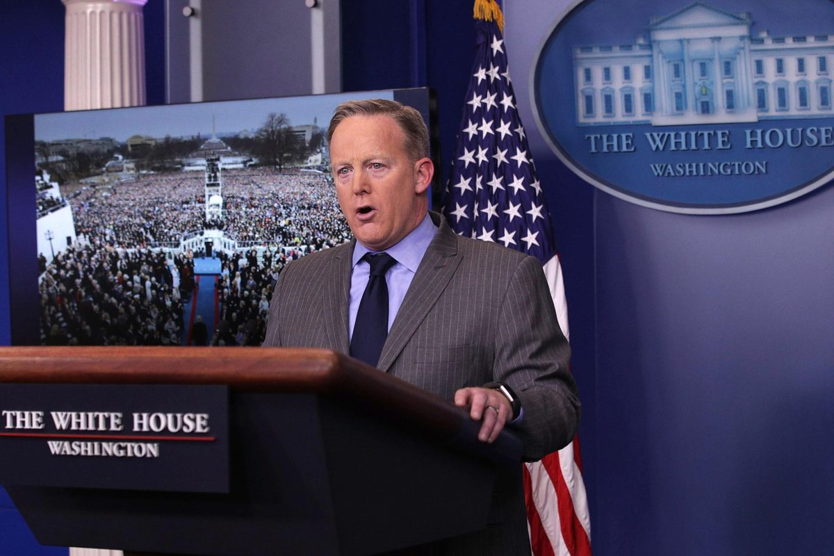 sean spicer doesn't want white house or donald trump to lie 2017 images