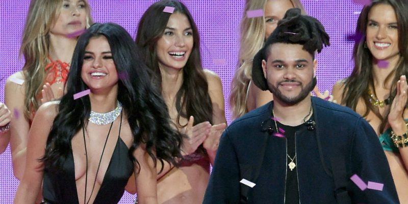 selena gomez working her weeknd gossip