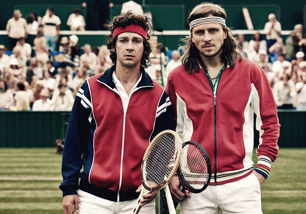 Shia LaBeouf's 'Borg' not so exciting for John McEnroe 2017 images
