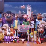 sing comes in 2nd place at box office