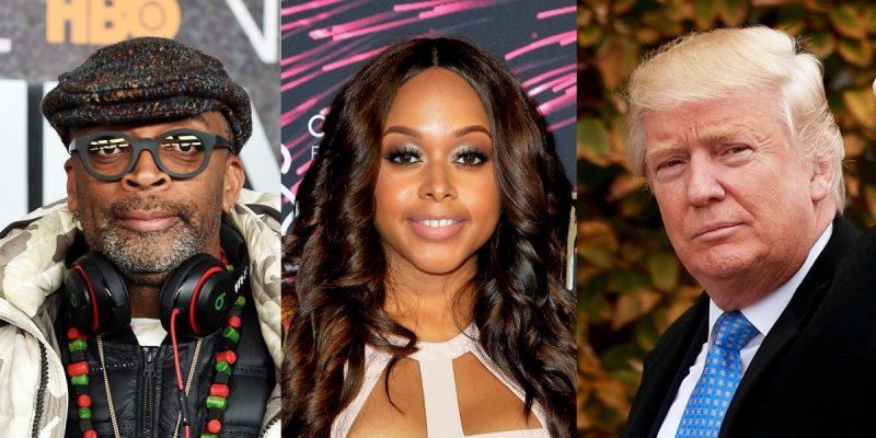 spoke lee nixing chrisette michele over donald trump gig