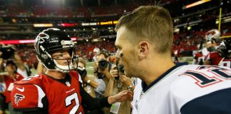 super bowl 51 tom bradys patriots vs matt ryans falcons 2017 images
