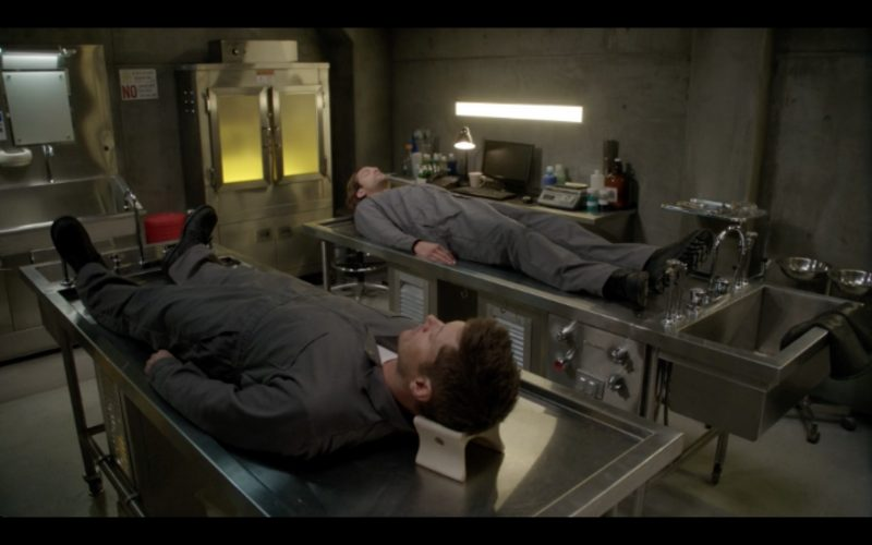 supernatural 1209 first blood winchester brothers morgue