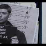 supernatural first blood 1209 dean winchester mug shot flashback