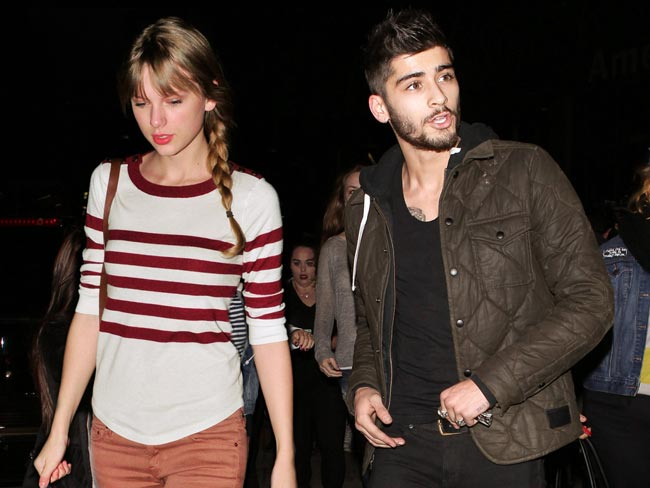 taylor swift shares zayn malik birthday video 2017