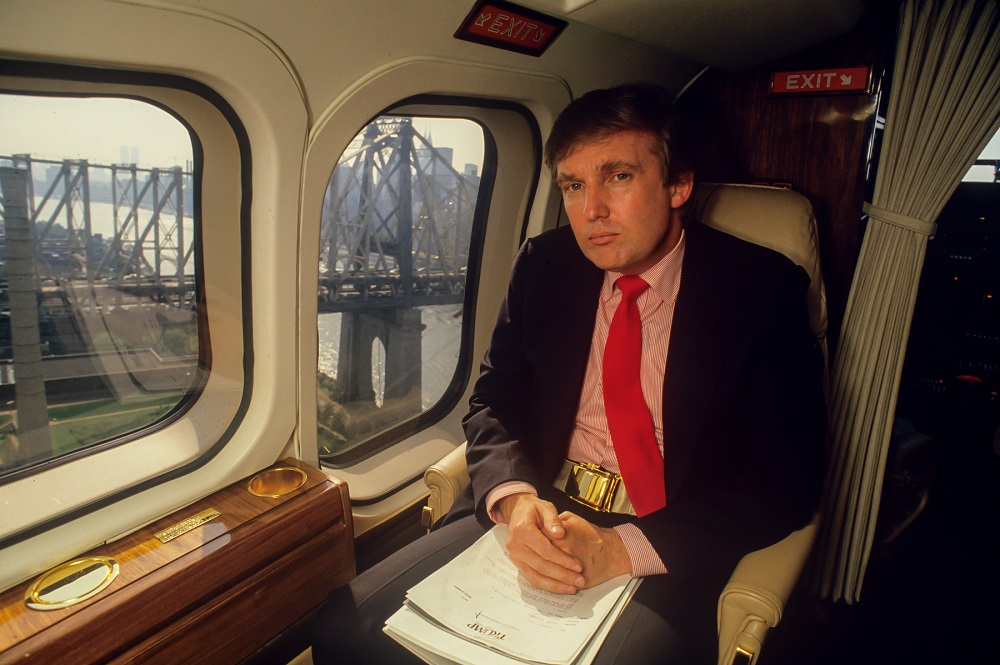 Will Donald Trump's White House harken back to the 80's? 2017 images
