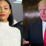 zoe saldana supporting donald trump bully