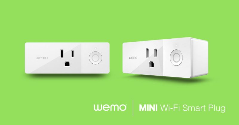 2017 hot tech wemo mini smart plug