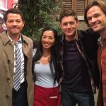 Donna Benedicto talks supernatural and sniffs from misha collins