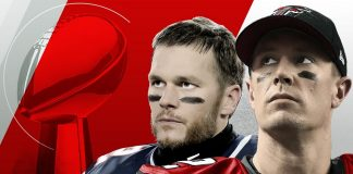 Matt Ryan vs. Tom Brady super bowl 51 2017 images