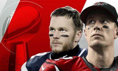 Matt Ryan vs. Tom Brady super bowl 51 2017 images