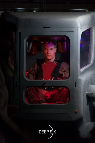 Tahmoh Penikett goes deep six mttg Ship Shot