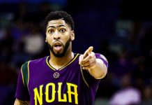 anthony davis committed to pelicans 2017 images