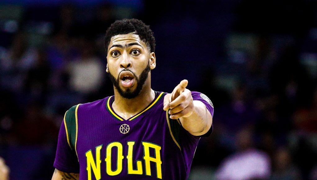 Anthony Davis committed to New Orleans Pelicans 2017 images