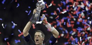 atlanta falcons fans deal with new england patriots super bowl 51 win 2017 images