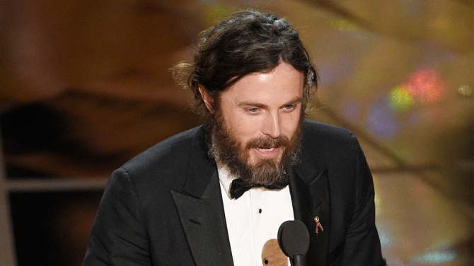 casey affleck oscar break from filming