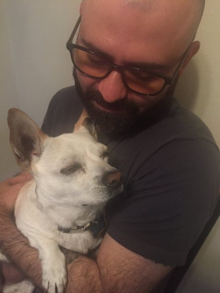 davy perez with dog supernatural