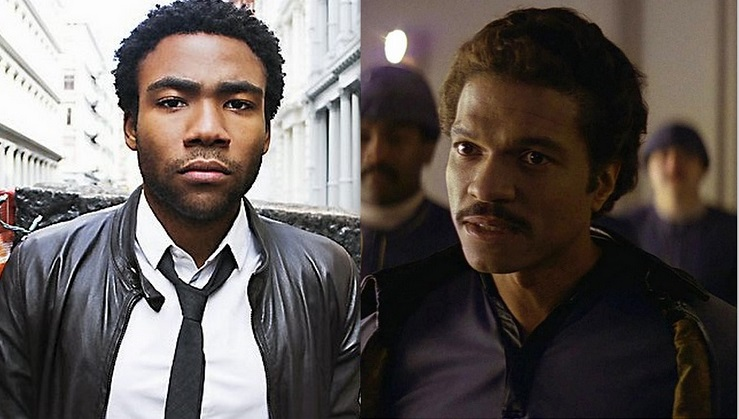 donald glover as lando calrissian star wars han solo movie