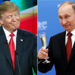 donald trump continues showing love for 'thug' vladimir putin 2017 images