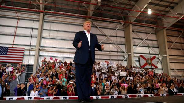 donald trump florida rally transcript