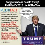donald trump getting media fact checking more