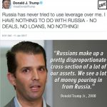 donald trump jr on russia