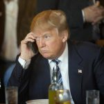 donald trump on unsecured samsung galaxy s3 phone