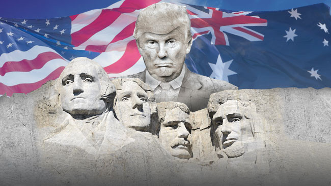 donald trump rushmore bound