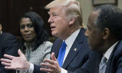 donald trump takes on black history month 2017 images