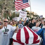 Donald Trump uniting Americans through protests