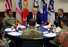 donald trump walks back europe terrorism media slam 2017 images