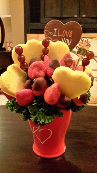edible arrangements bouquet set bachelor party