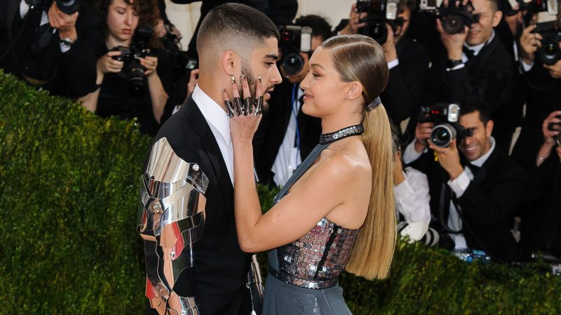 gigi hadid and zayn malik run it fine