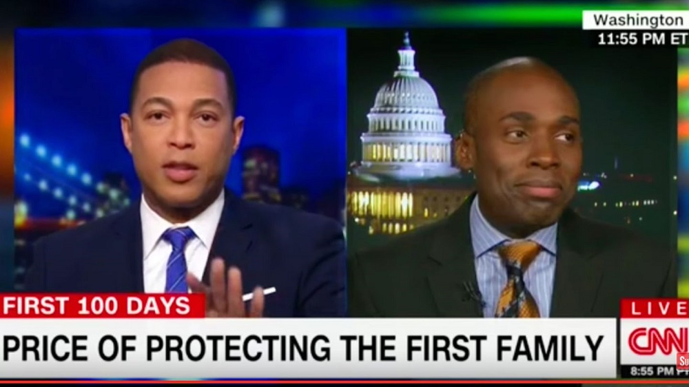 Hereos and Zeros: Don Lemon Fake News vs Gilbert Arenas 2017 images