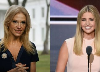 kellyanne conway brings qvc to white hosue for ivanka trump 2017 images