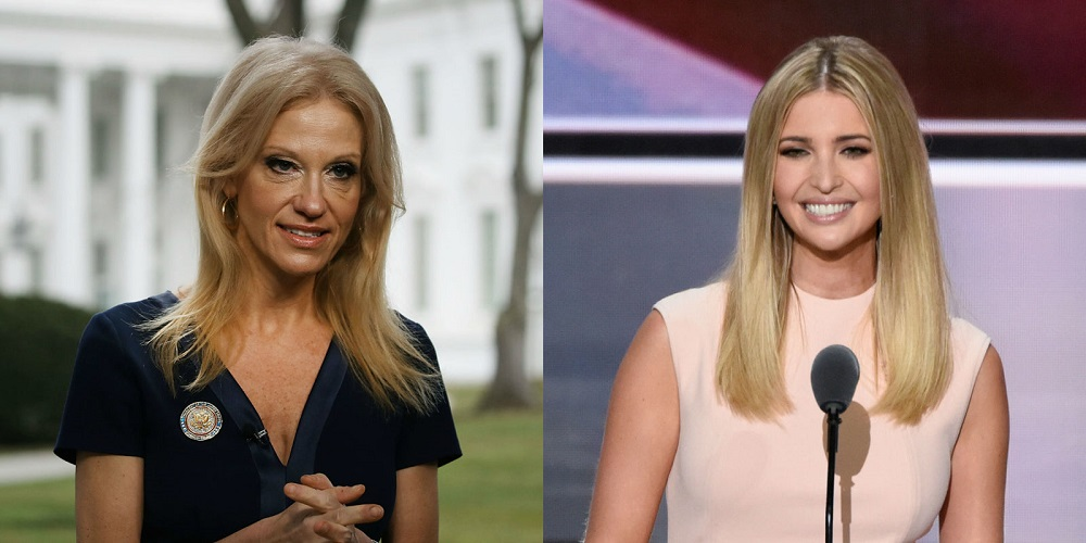 Kellyanne Conway brings QVC to White House for Ivanka Trump 2017 images