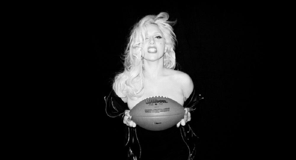 Lady Gaga making Super Bowl 51 inclusive 2017 images