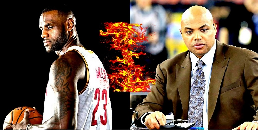 lebron james on charles barkley attack 2017 images