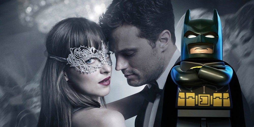 lego batman pounds one out on 50 shades darker at box office 2017 images