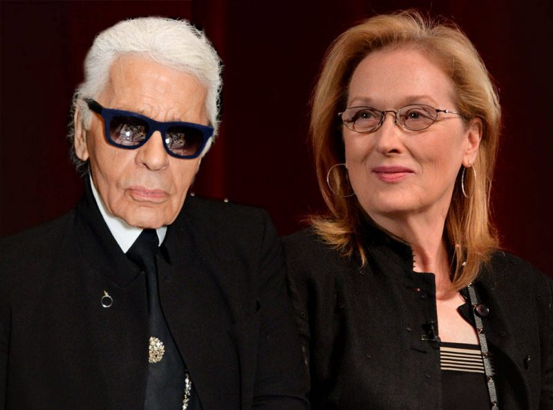 maryle streep vs karl lagerfeld over oscar dress
