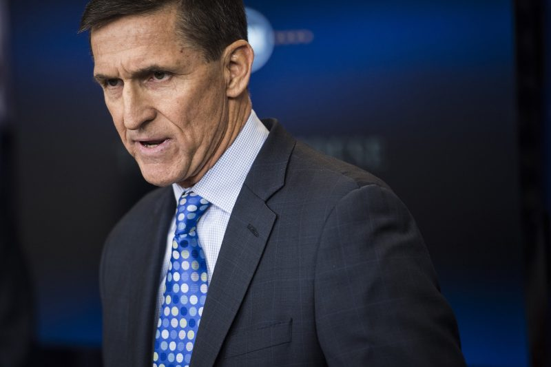 michael flynn gets messy for donald trump