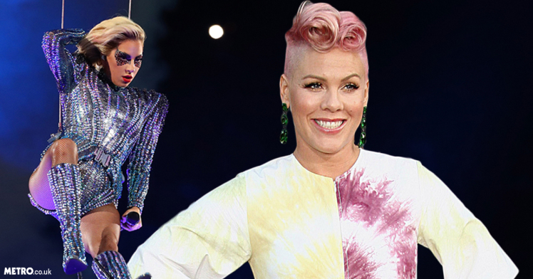 pink not letting social media slam lady gaga