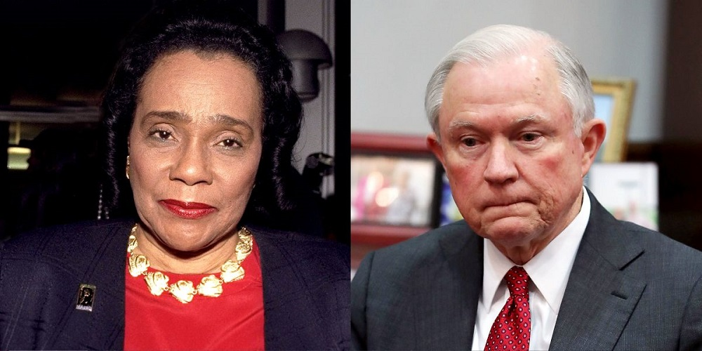 Republicans go old school to silence Coretta Scott King letter 2017 images