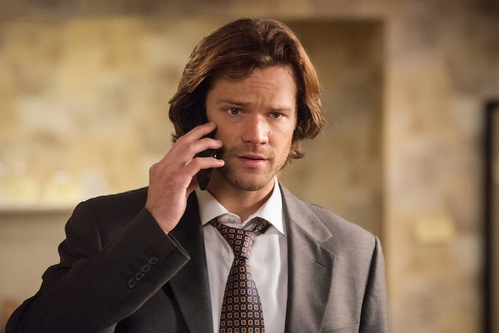 sam winchester concerned suit regarding dean supernatural