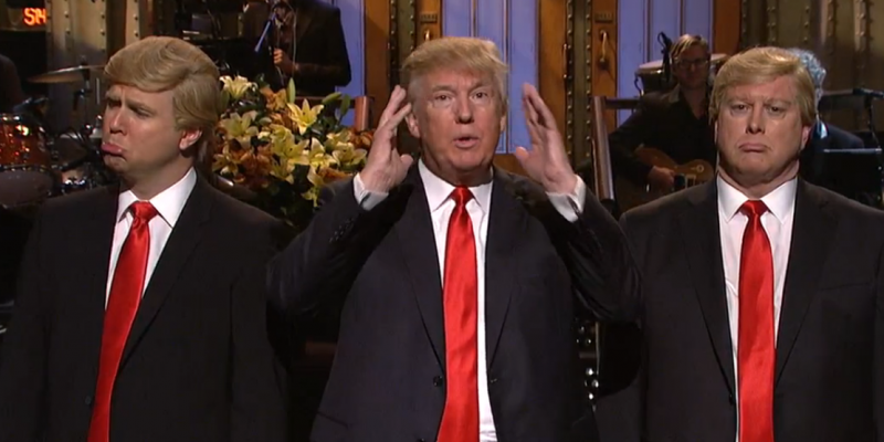 snl having best ratings in 22 years with donald trump